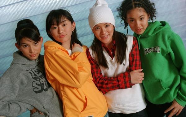 デビュー当時のSPEEDのメンバー=1997年10月6日