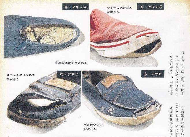 第二世紀32号でも、子どもの運動靴をはきつぶすテストをしている