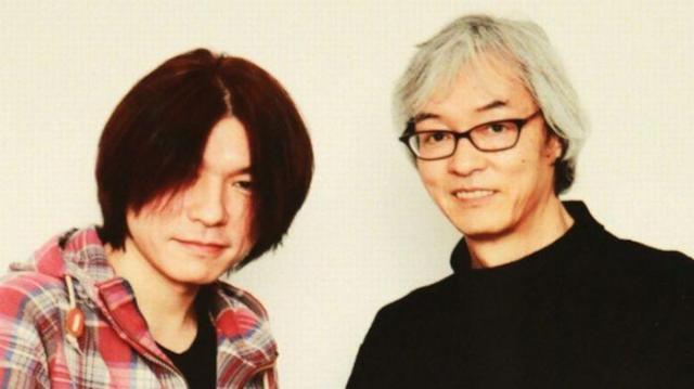 名プロデューサーとして知られた故・佐久間正英さん(右)との写真