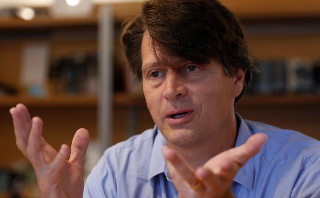 「ポケモンGO」の開発会社である「Niantic」のCEO John Hanke氏=2016年7月15日