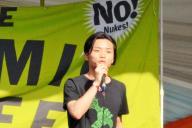 フジロックの「アトミック・カフェ」に登壇する奥田愛基さん