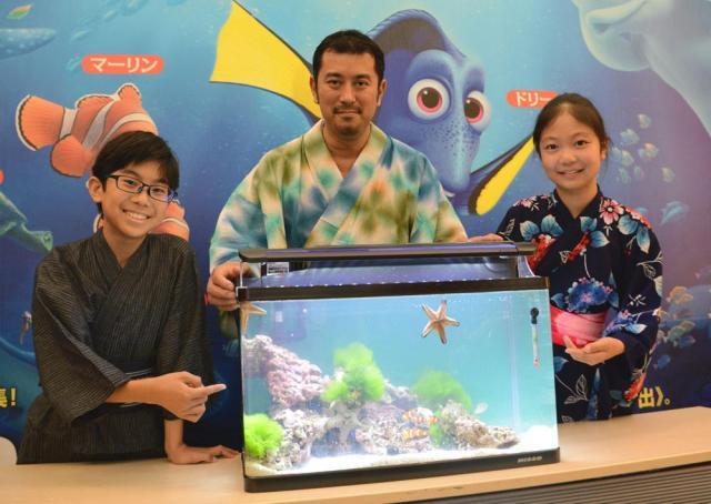 ワークショップは子どもたちが海の生態系を考える機会となった