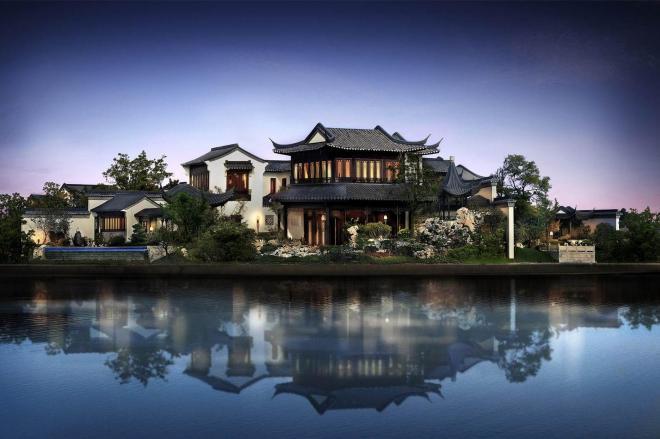 160億円の豪邸「桃花源」