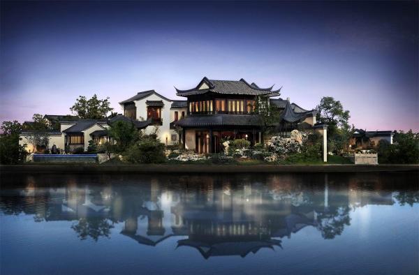 中国160億円の大豪邸「桃花源」