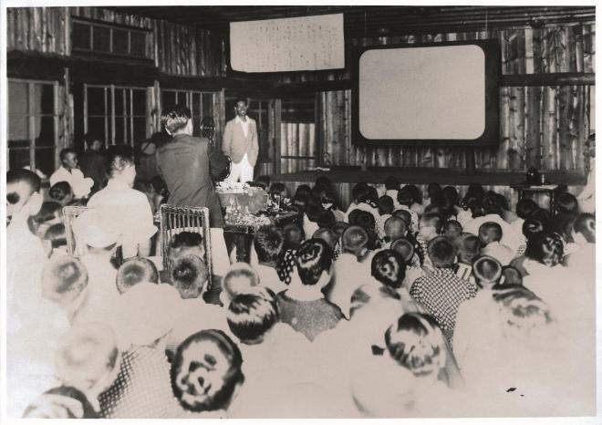 教会の原点となった1921年に開かれた「芸術自由教育講習会」