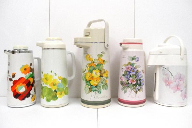 かつて発売されていた花柄ポット