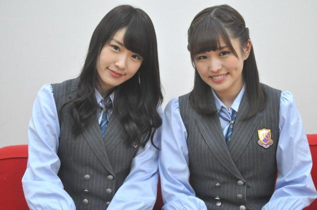 女性アイドル愛を熱く語ってくれた、高山一実さん(左)と伊藤かりんさん