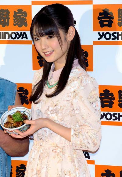 道重さゆみさん=2012年11月