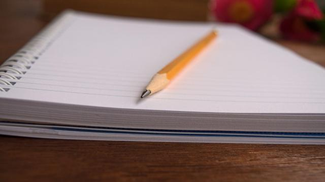 「ビジョンブック」と呼んだノートに自分の将来像を書き込んでいった ※写真と記事は直接、関係ありません
