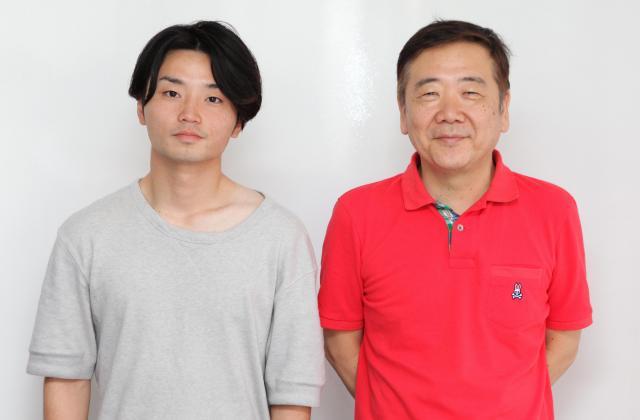 いじめられている子へ「逃げて」「生きていて」と呼びかける、鴻上尚史さんと奥田愛基さん=竹谷俊之撮影