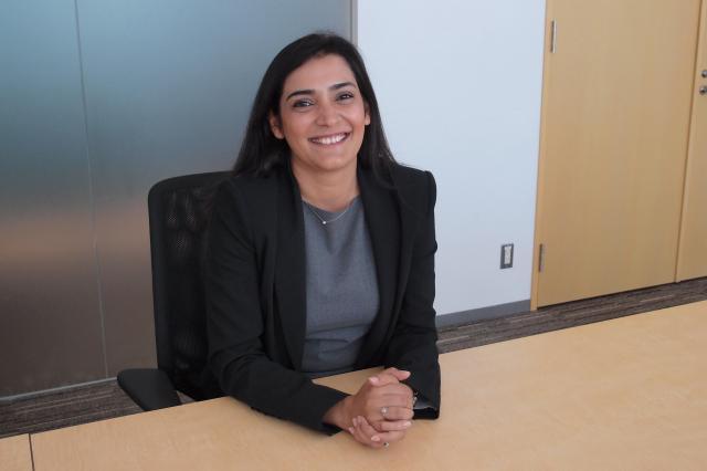 ラチャナ・ラトラ部長。営業職とマーケティング職のスペシャリストを企業に紹介する部署を統括しています