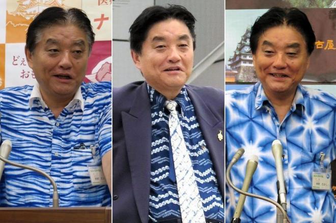 河村たかし名古屋市長が愛用する派手なシャツ
