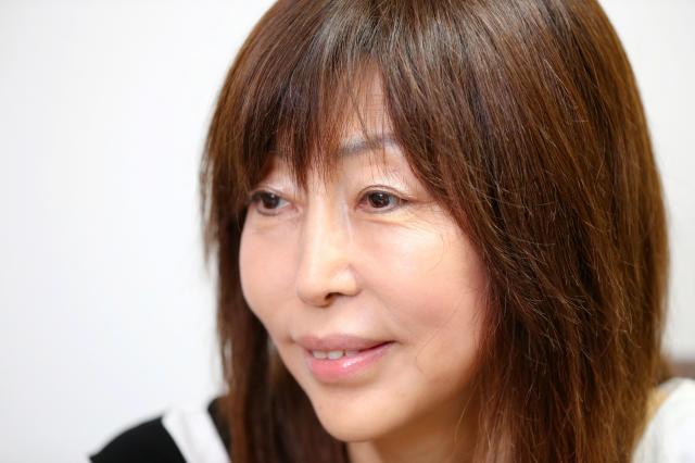 離婚カウンセラーの岡野あつこさん=2016年8月31日、池永牧子撮影