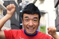 リオ五輪に出場した猫ひろしさん=東京都渋谷区、北村玲奈撮影