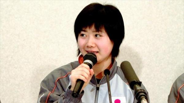 【2006年3月3日】卓球のアジア杯で抱負を語る福原愛選手