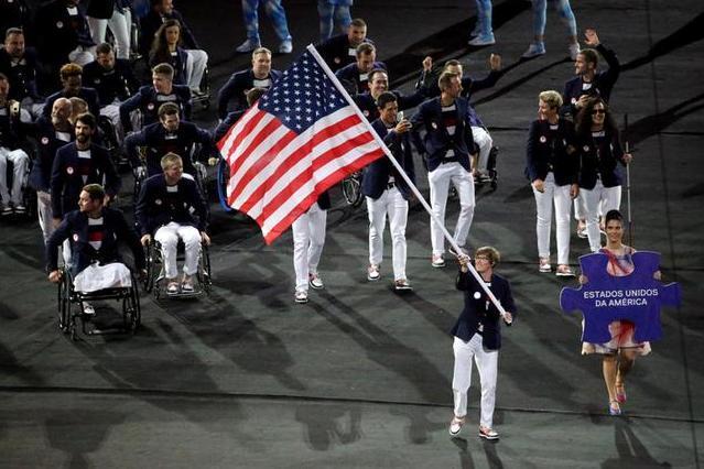 30人ほどの軍経験者がいるパラリンピックのアメリカ選手団