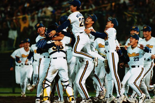 1996年、日本シリーズで巨人を破って日本一に輝いたオリックス