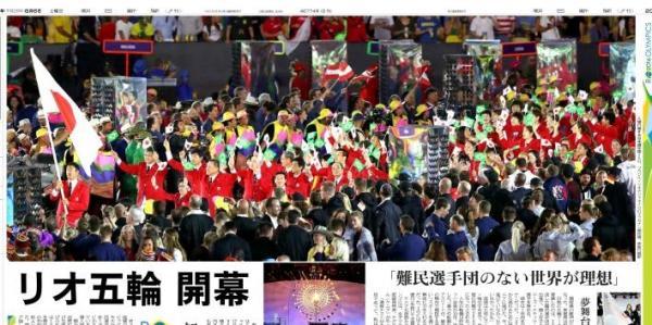 「リオ五輪 開幕」(8月6日付夕刊) 第31回リオ五輪の開幕式があり、17日間にわたるスポーツの祭典が幕を開けた。