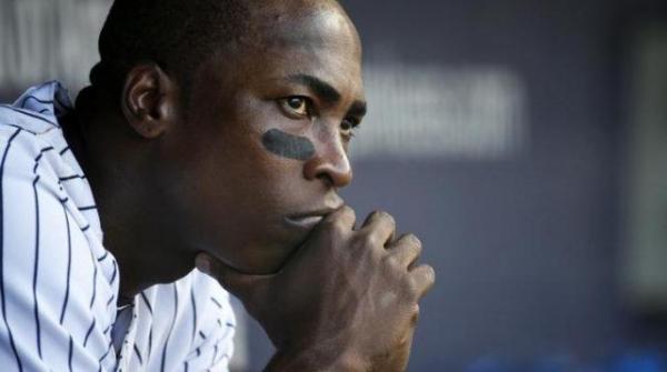 アルフォンソ・ソリアーノ外野手=2013年9月7日、ロイター