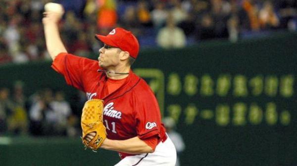 コルビー・ルイス投手=2009年4月3日