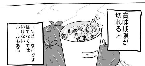 漫画「食べ物を捨てる」(6)