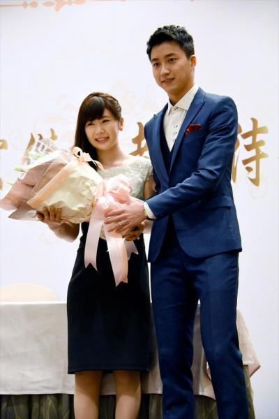 【2016年9月22日】台湾で結婚を発表した江宏傑選手