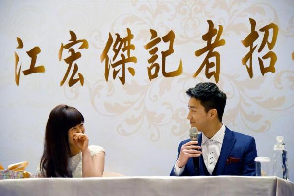 【2016年9月22日】台湾で結婚を発表した福原愛選手と江宏傑選手