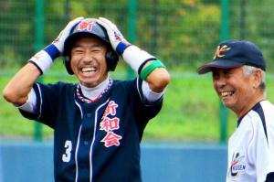 秋田の「500歳野球」今年も超人たちが集結 ギバちゃんも登場