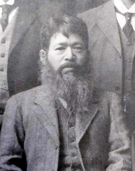 50代のころの織田信福。1914(大正3)年に撮影された=ひ孫の英正さん提供