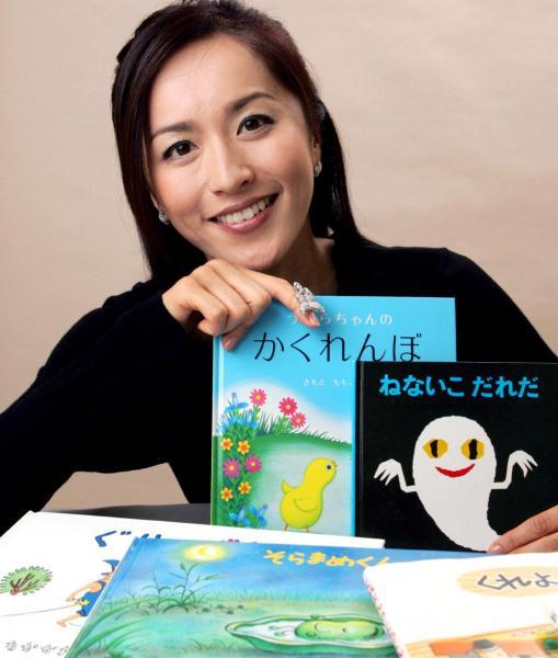 NHK「おかあさんといっしょ」の17代目うたのおねえさん・茂森あゆみさん=2006年撮影
