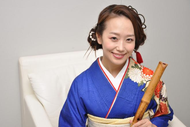 「Bamboo Flute Orchestra」としてメジャーデビューした、尺八奏者の辻本好美さん