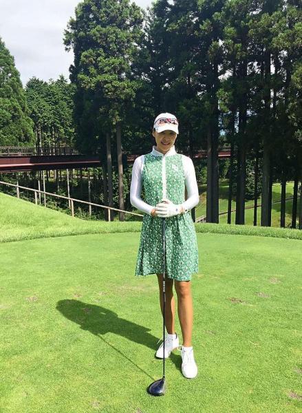 ゴルフが趣味の杉山イーピンさん