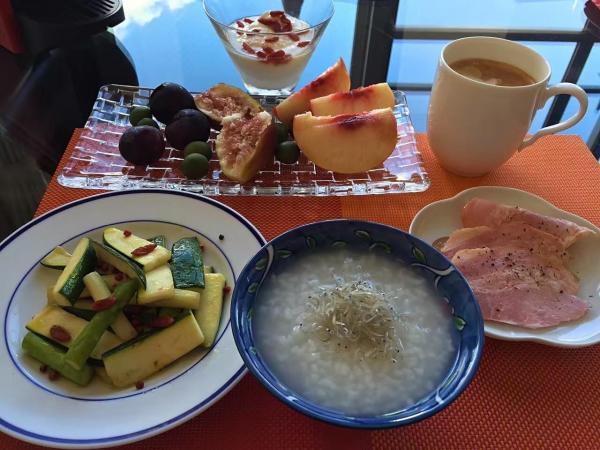 美魔女の朝ご飯