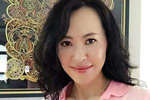 初代美魔女、6年後の今 中国生まれ、元バスケ選手で医学生の経歴