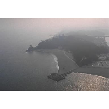 桂浜の全景