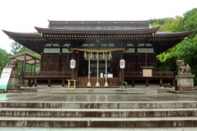 名前が似ていることで羽生ファンの聖地になった弓弦羽神社=神戸市東灘区