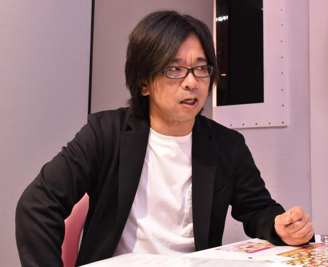 ジュノン・スーパーボーイ・コンテストの歴史を語る岡本朋之副編集長