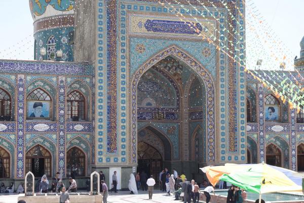 テヘランにあるモスク。取材をした場所ではありません