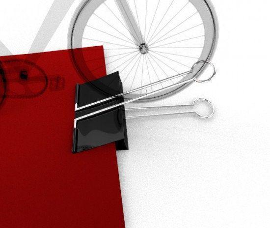 Huge Clip – Bicycle parking rack Design(サイクルラックデザインコンセプト)