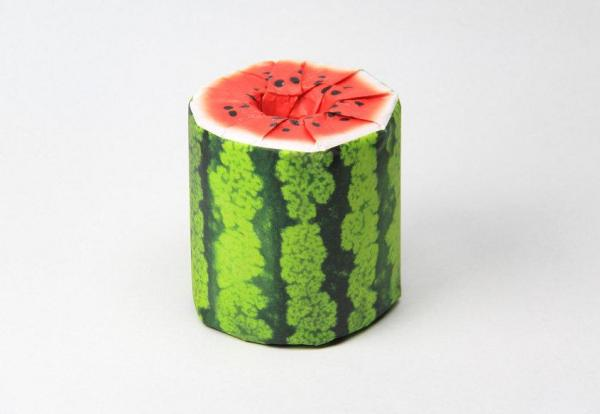 The Fruits Toilet Paper(トイレットペーパー パッケージデザイン)