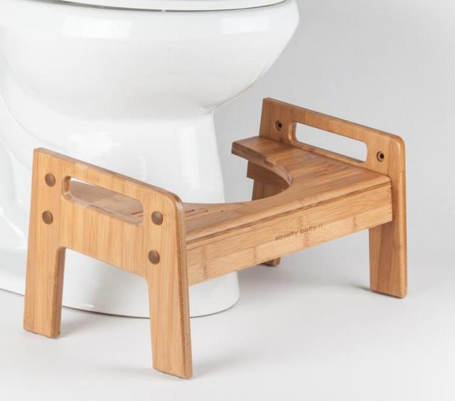木製のスクワティポティー