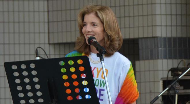 「東京レインボープライド」に参加したケネディ駐日米大使