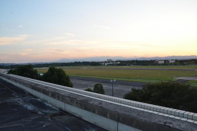 庁舎屋上からの風景