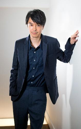 俳優の長谷川博己さん=伊藤恵里奈撮影
