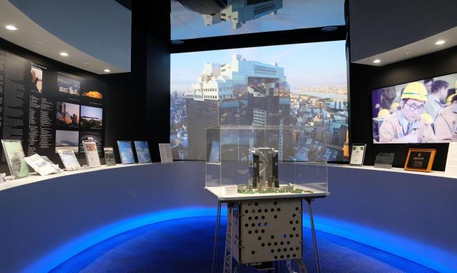 89平米の一室に新設されたインフォメーションセンター