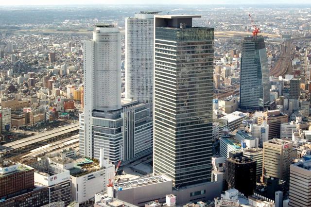 トヨタ自動車が入居するミッドランドスクエア=名古屋市中村区