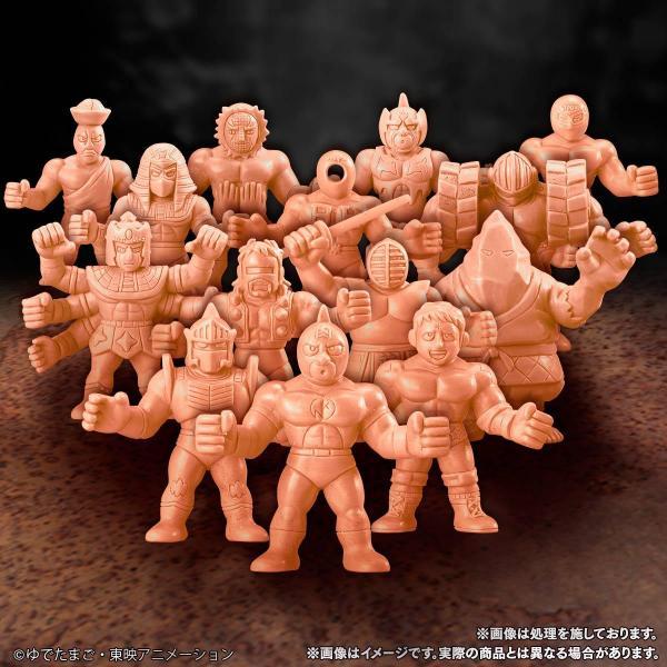 これが「キン肉マン キンケシプレミアム」 (C) ゆでたまご・東映アニメーション