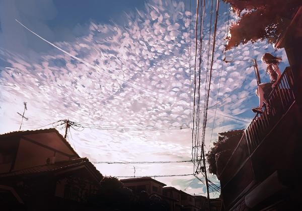 汐街コナさんが描いたイラスト