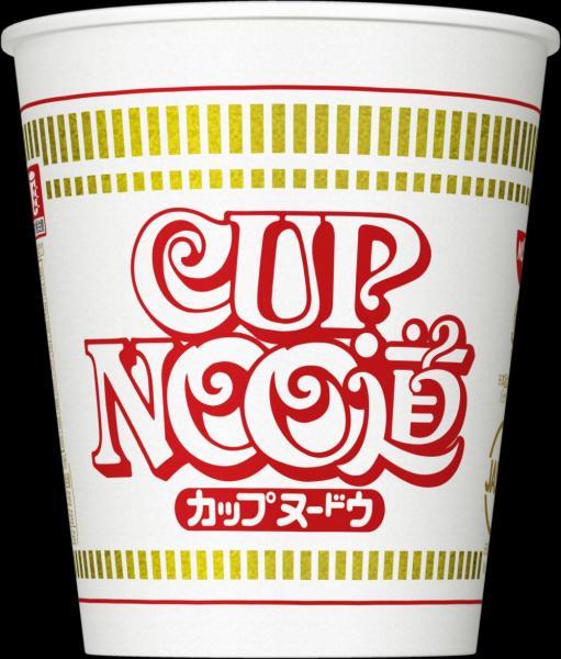 北海道限定パッケージの「カップヌードウ」
