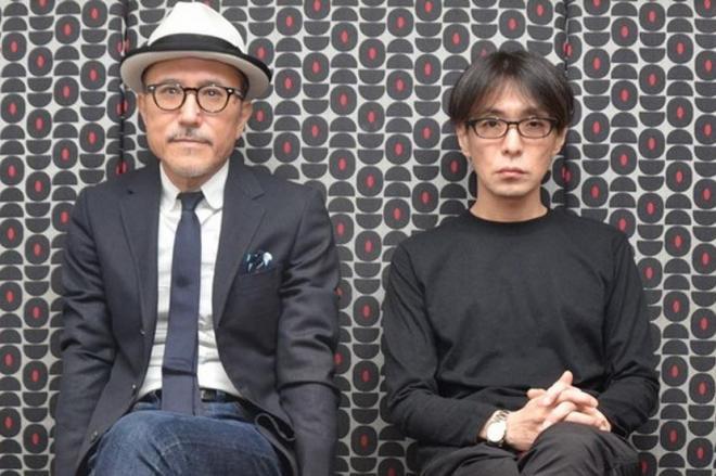 「METAFIVE」結成の経緯を語る高橋幸宏さん(左)と砂原良徳さん